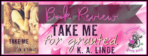 Take Me For Granted Banner