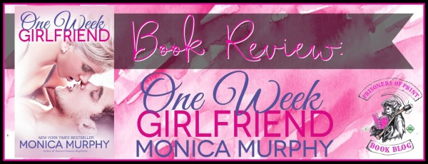 One Week Girlfriend Banner