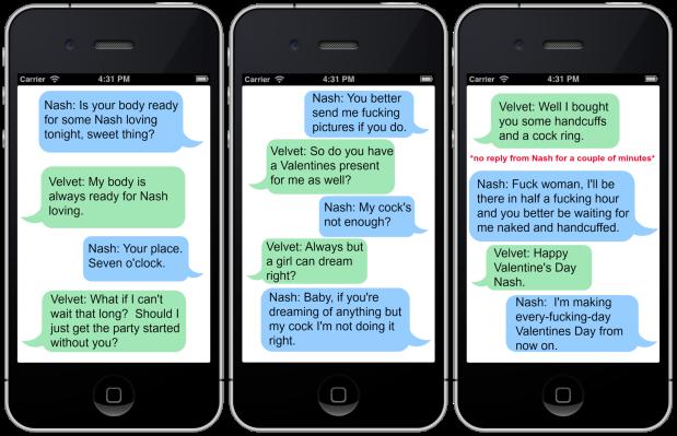 Nash & Velvet Text