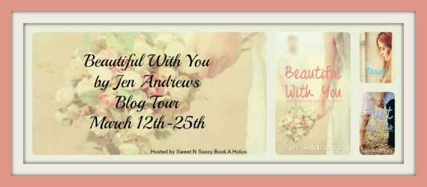 Beautiful With You blog tour banner