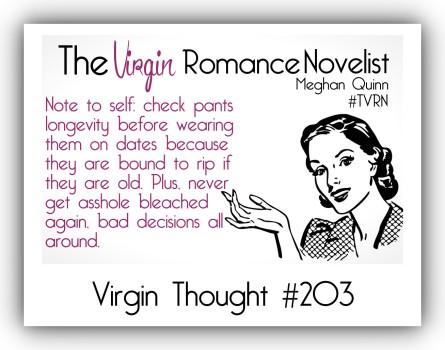 The Virgin Romance Novelist CheckPants