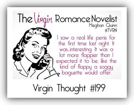 The Virgin Romance Novelist RealLifePenis