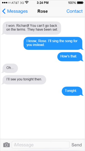 Text Message Connor to Rose 4