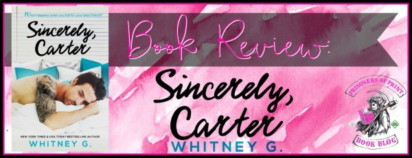 Sincerely Carter Banner