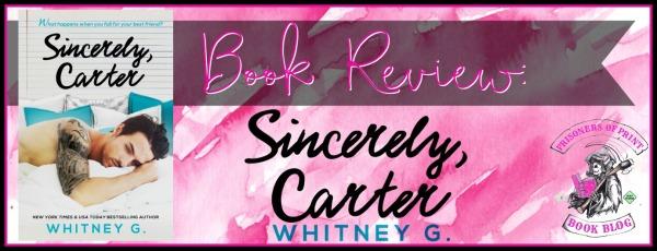 Sincerely Carter Banner