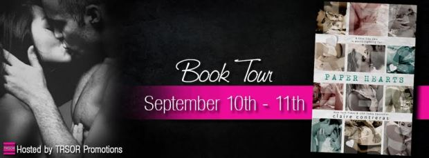 paper hearts book tour