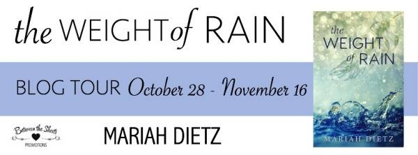 The Weight Of Rain tour banner